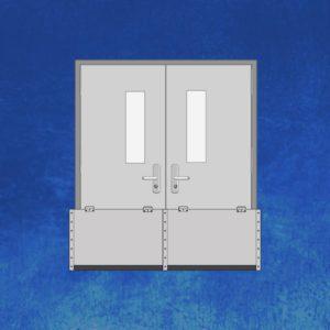5127 ...  sc 1 st  Door Flood Barrier & 5027 - Pair of Doors Flood Barrier - Door Flood Barrier